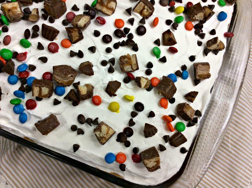 Crazy Candy Poke Cake