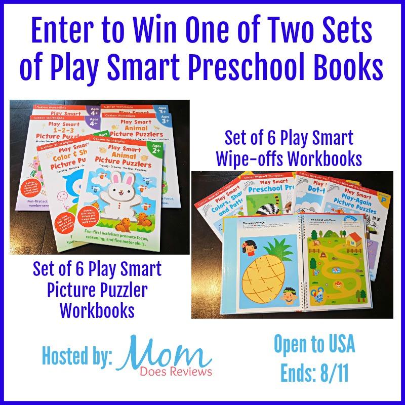 Giveaway Play Smart Preschool Books
