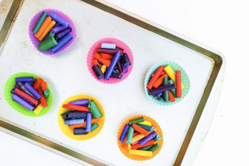 Make your Own Tie Dye Crayons