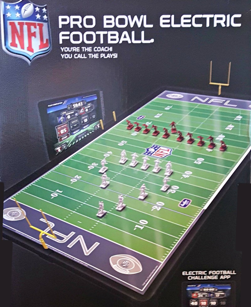 Celebrate 70 Years of NFL Electric Football