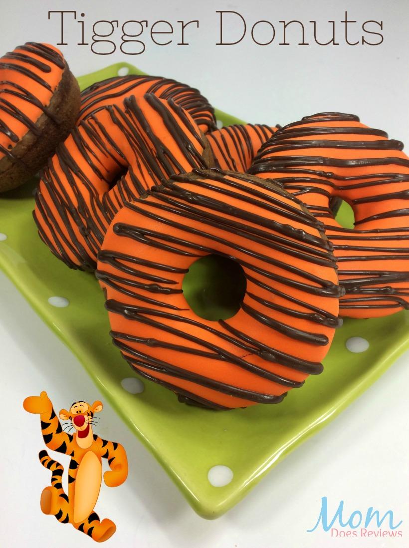 Tigger Donuts #christopherrobin #desserts #recipes #funfood