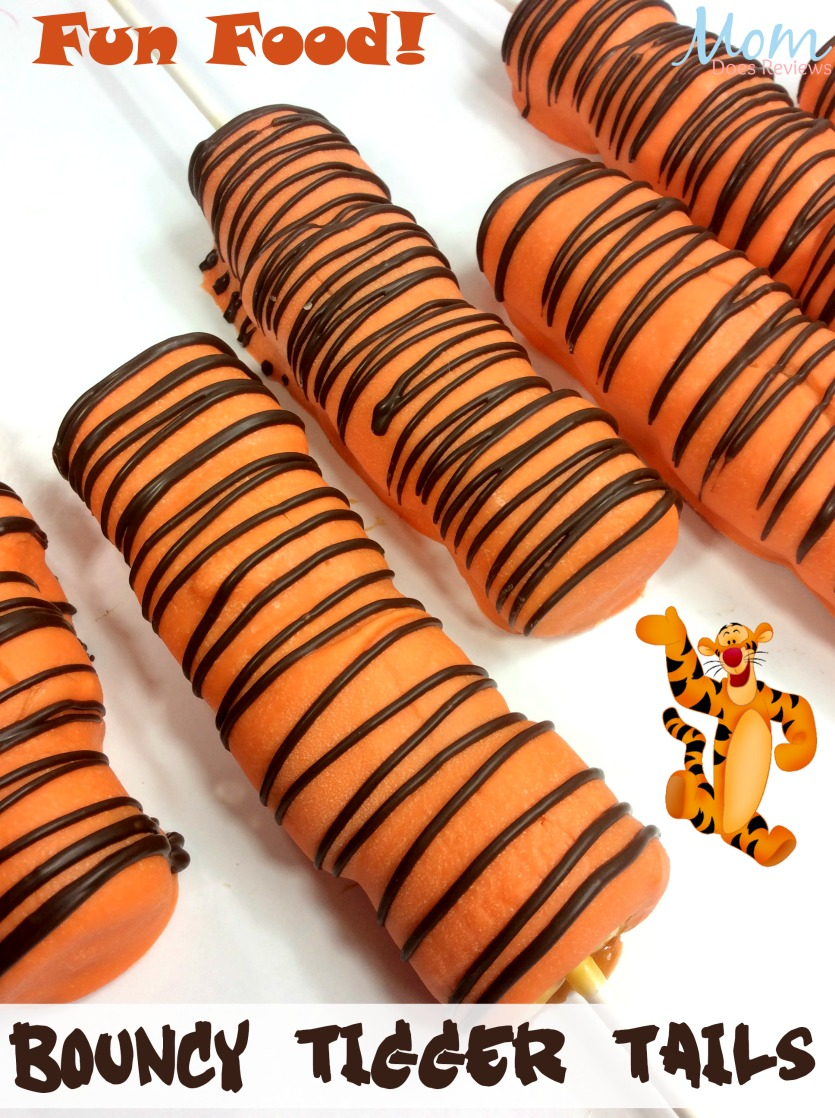 Tigger Tails #Winniethepooh #christopherrobin #funfood #desserts