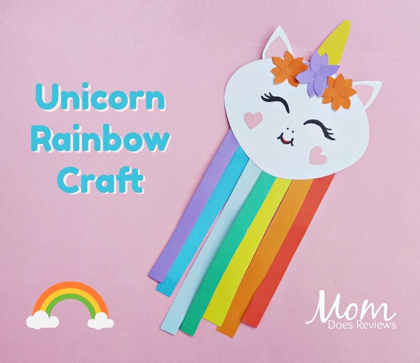 Unicorn Rainbow Craft #craft #unicorns #funstuff