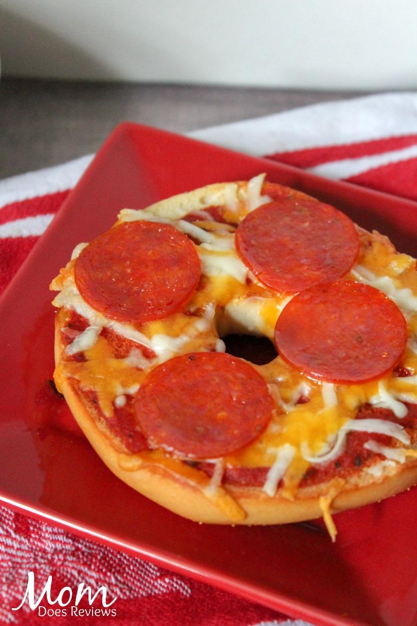 Bagel Pizzas #recipe #food