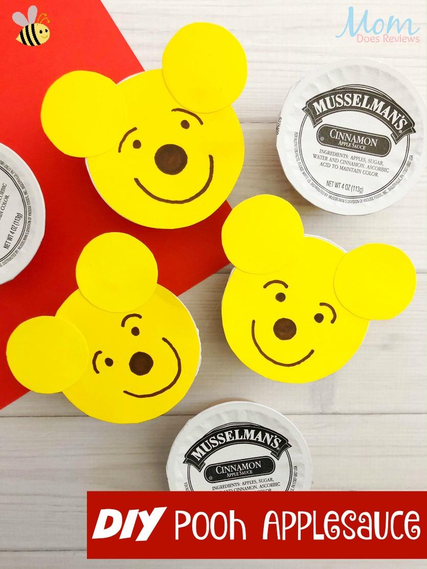 Pooh Applesauce #diy #funfood #winniethepooh