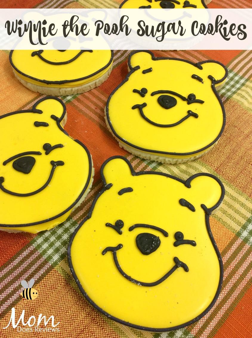 Winnie the Pooh Sugar Cookies #winniethepooh #desserts #funfood #cookies