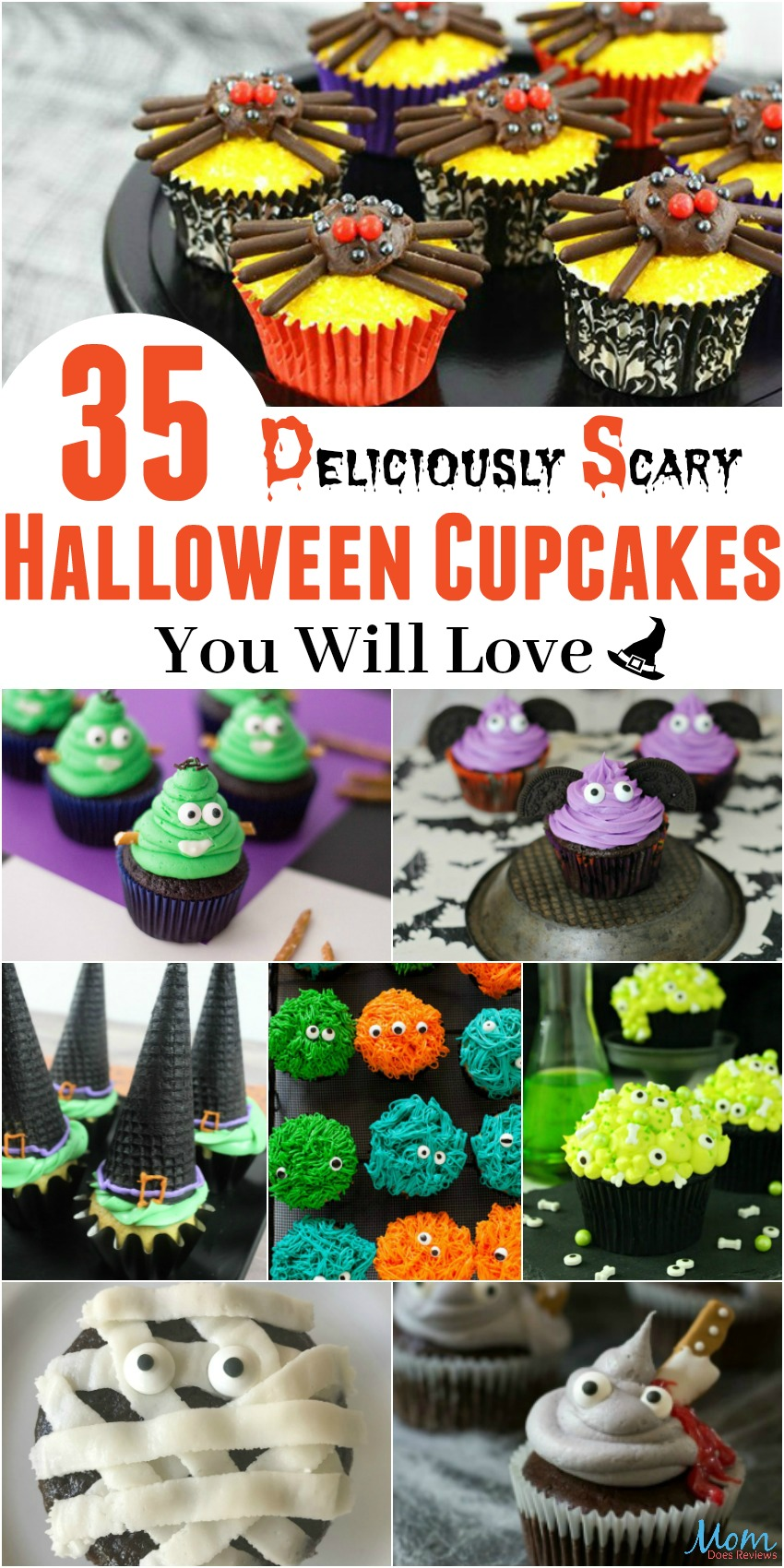 35 Deliciously Scary Halloween Cupcakes You Will Love
