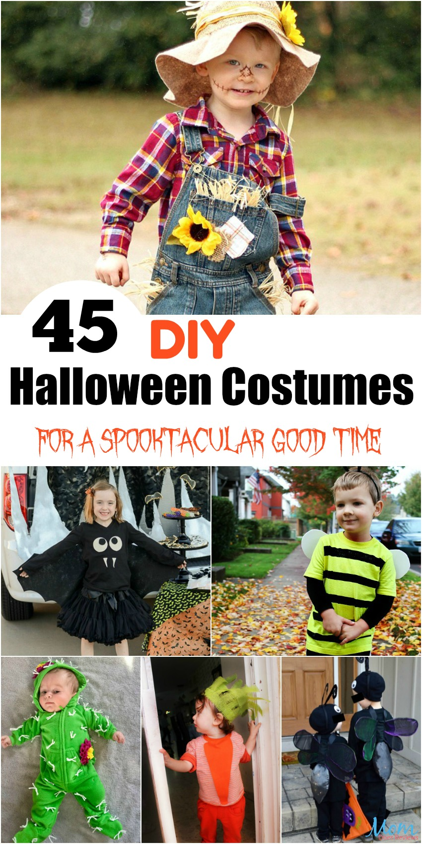45 DIY Halloween Costumes for a Spooktacular Good Time