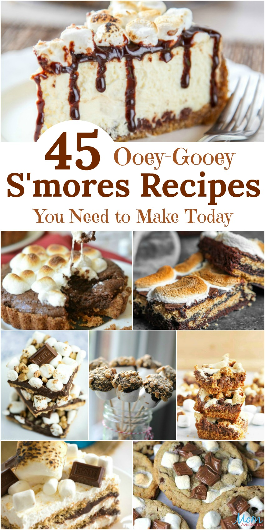 45 Ooey-Gooey S'mores Recipes You Need to Make Today {Part 2}