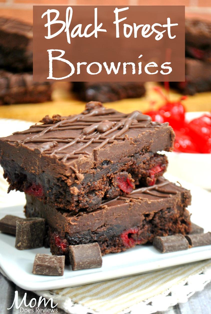 Black Forest brownies #desserts #sweettreats #brownies