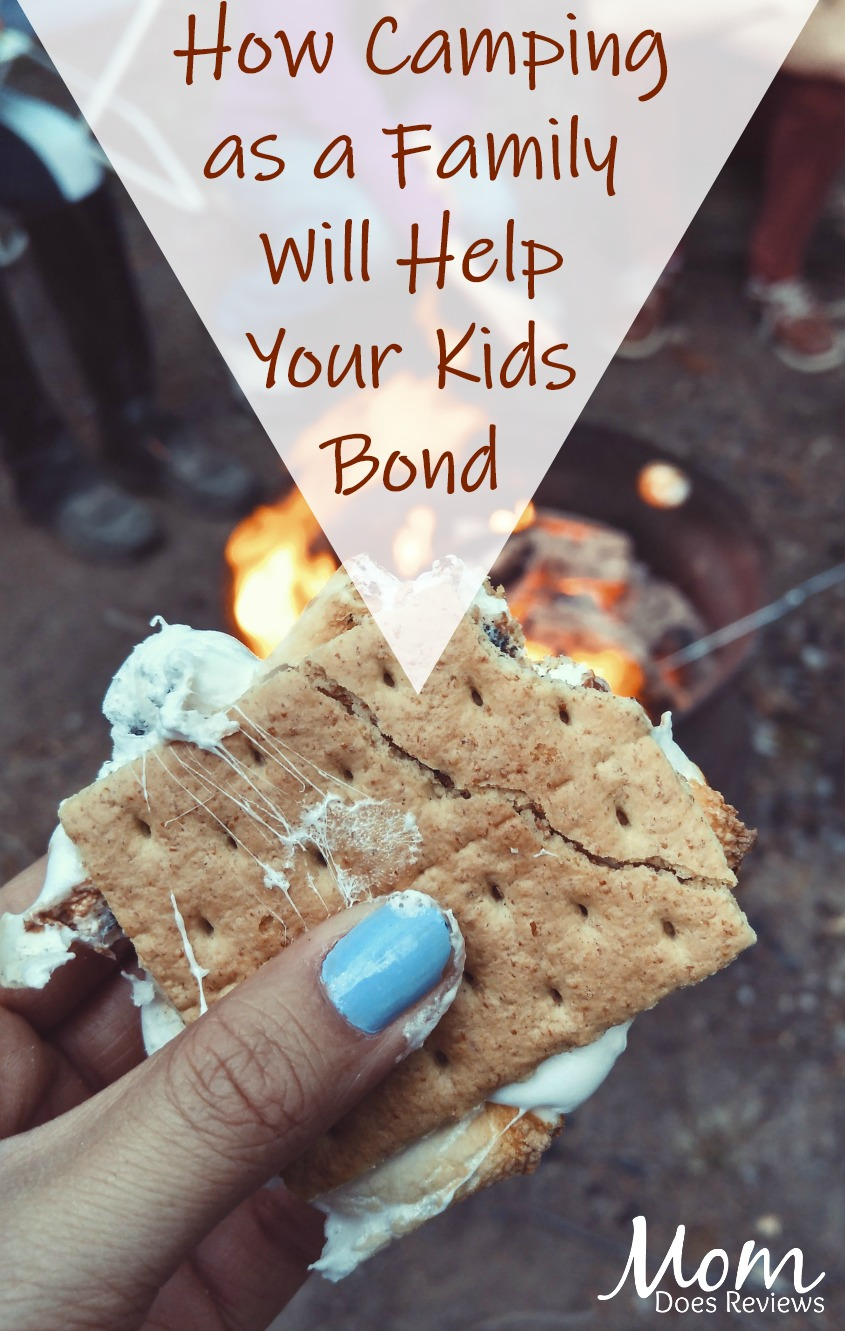 Do Your Kids Fight? How Camping as a Family Will Help Them Bond #parenting #camping #family #familytime