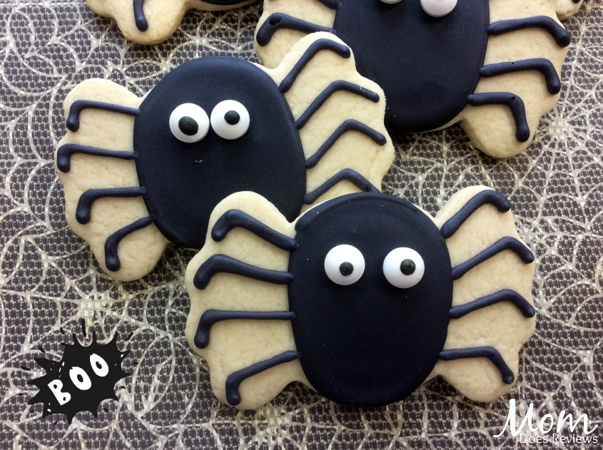 Cute Spider Sugar Cookie