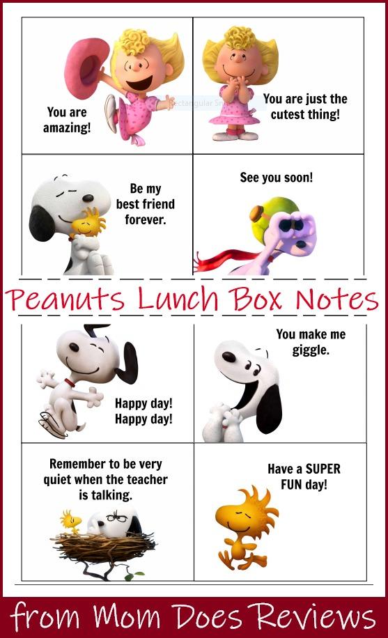 Peanuts Lunch Box Notes #BTS #peanuts #lunchbox