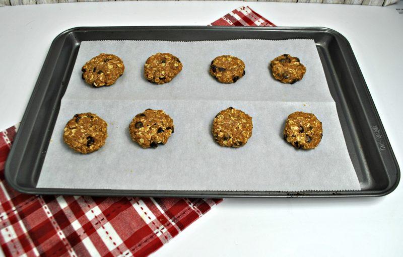 pumpkin choc chip cookies