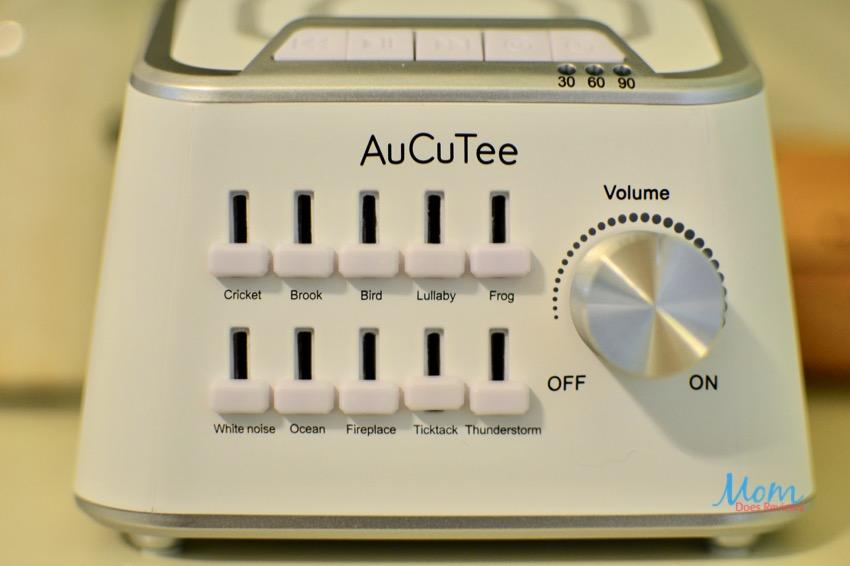 AuCuTee White Noise Machine