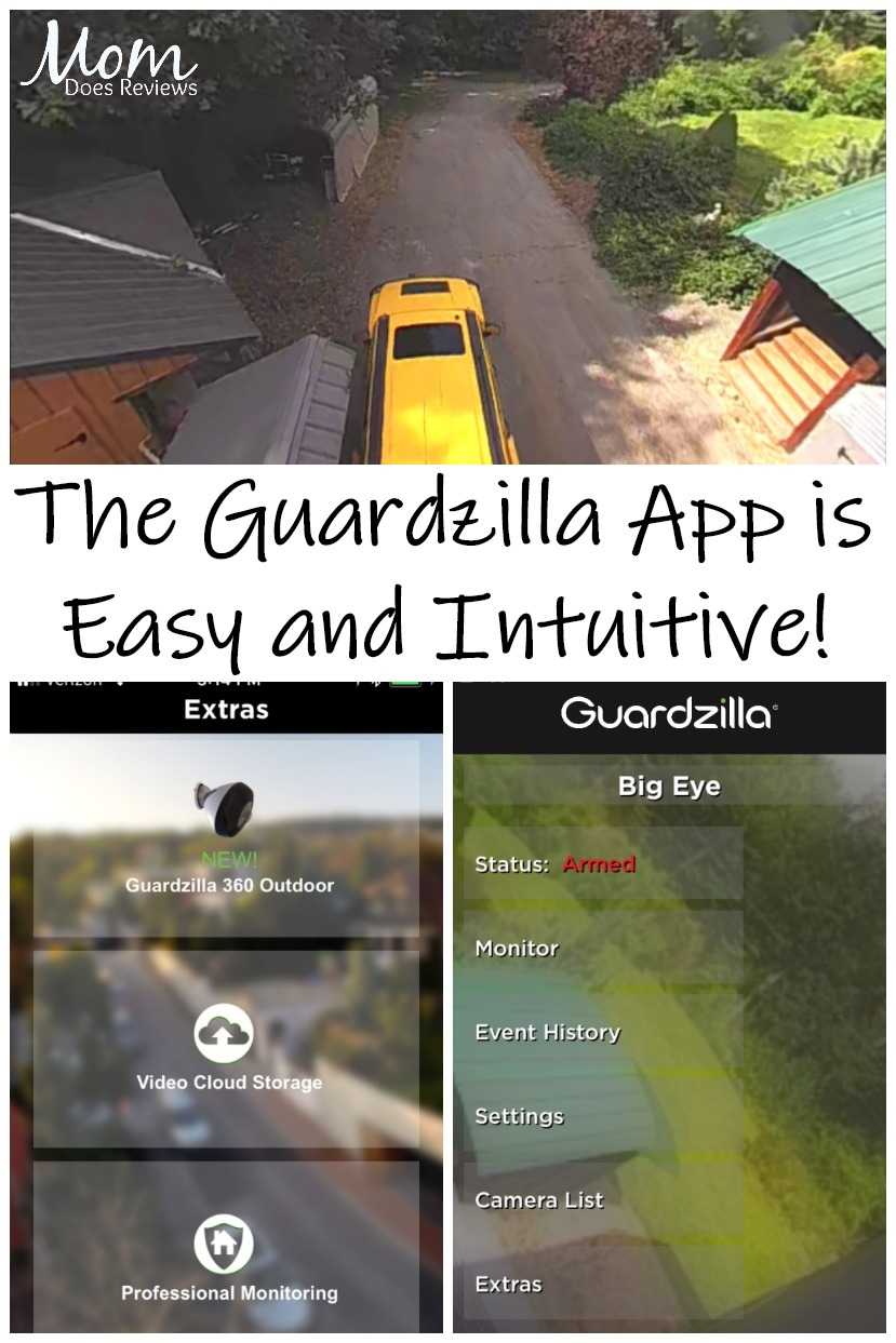 Smart And Simple Security With The Guardzilla Outdoor 360