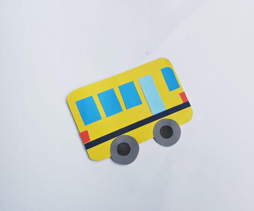 School Bus Coloring Book