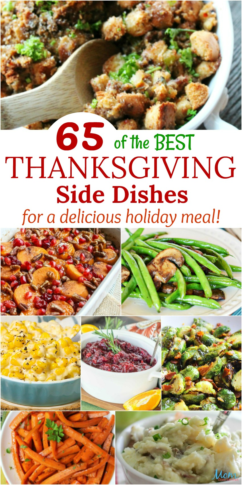 65 Best Thanksgiving Side Dishes for a Delicious Holiday Meal