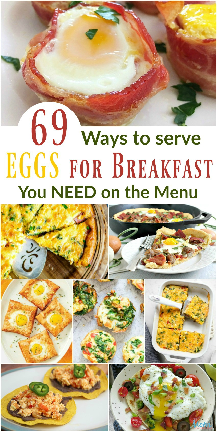 69 Ways to Serve Eggs for Breakfast You Need on the Menu