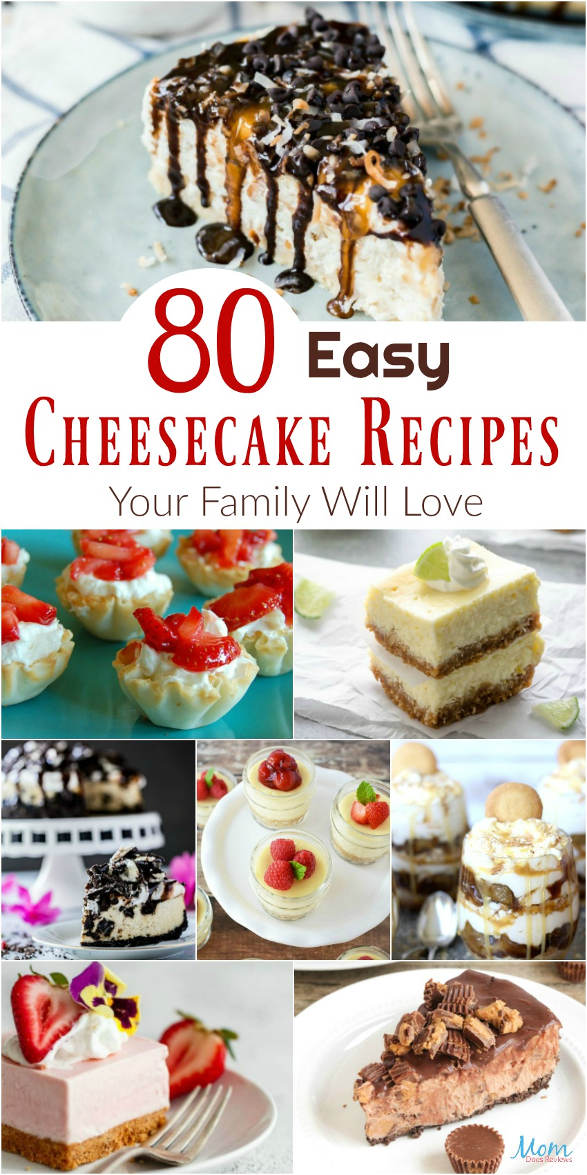 80 Easy Cheesecake Recipes Your Family Will Love