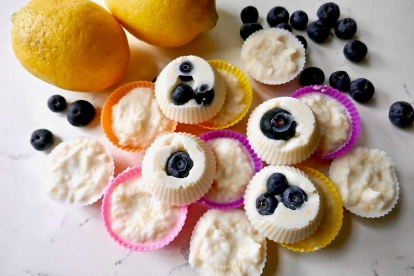 Dairy Free Lemon Fat Bombs {Paleo, Keto, Vegan, Sugar Free}