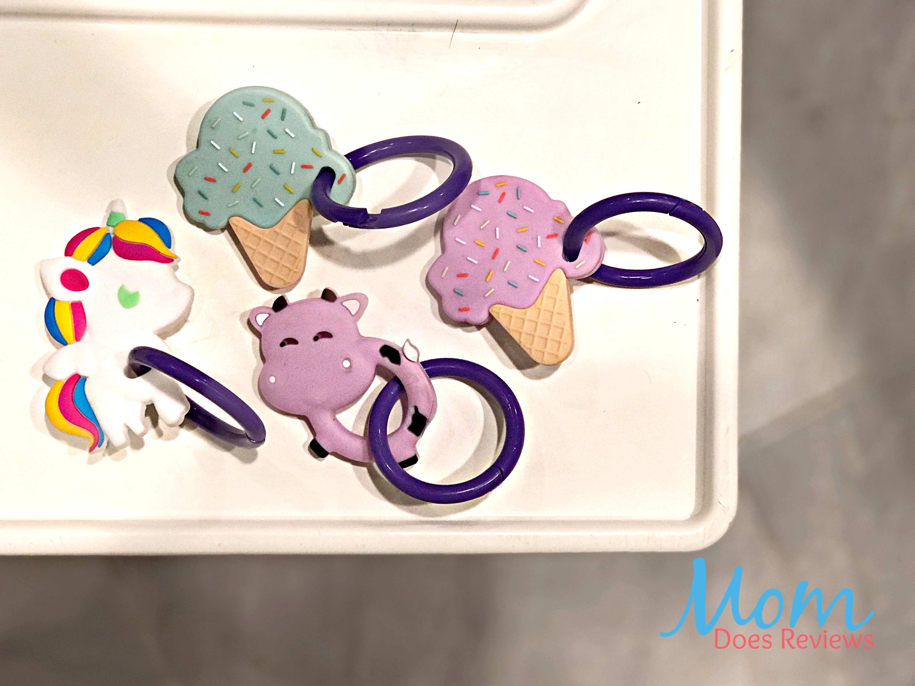 Drop it baby mix and match teethers