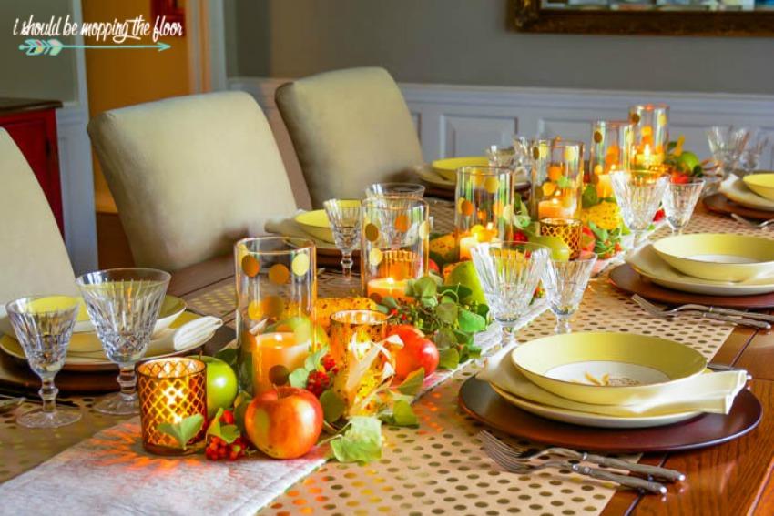 Fall Dining Table Decor Ideas