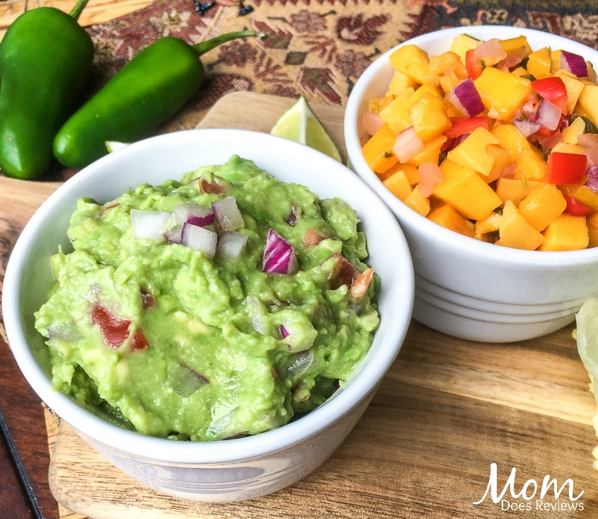 Spicy Black Bean Taco Wraps with Fresh Guacamole #Vegetarian