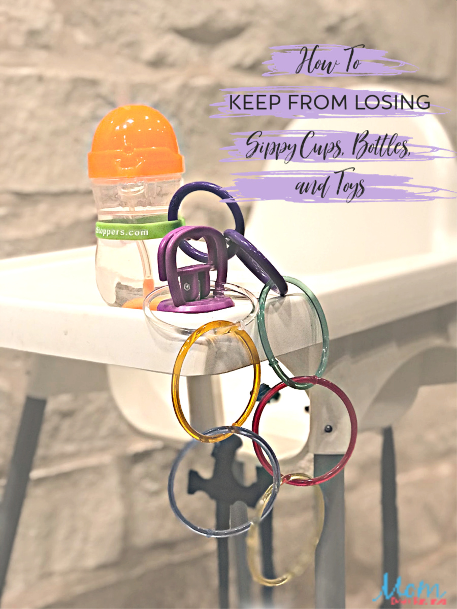 How to keep from losing sippy cuos bottles and toys 1