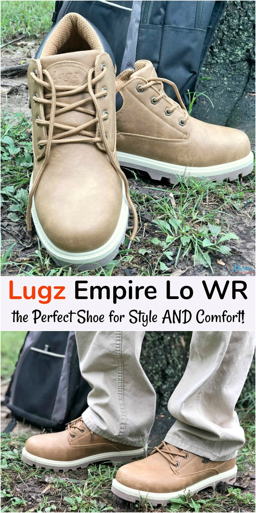 Lugz Empire Lo WR is the Perfect Shoe for Style AND Comfort