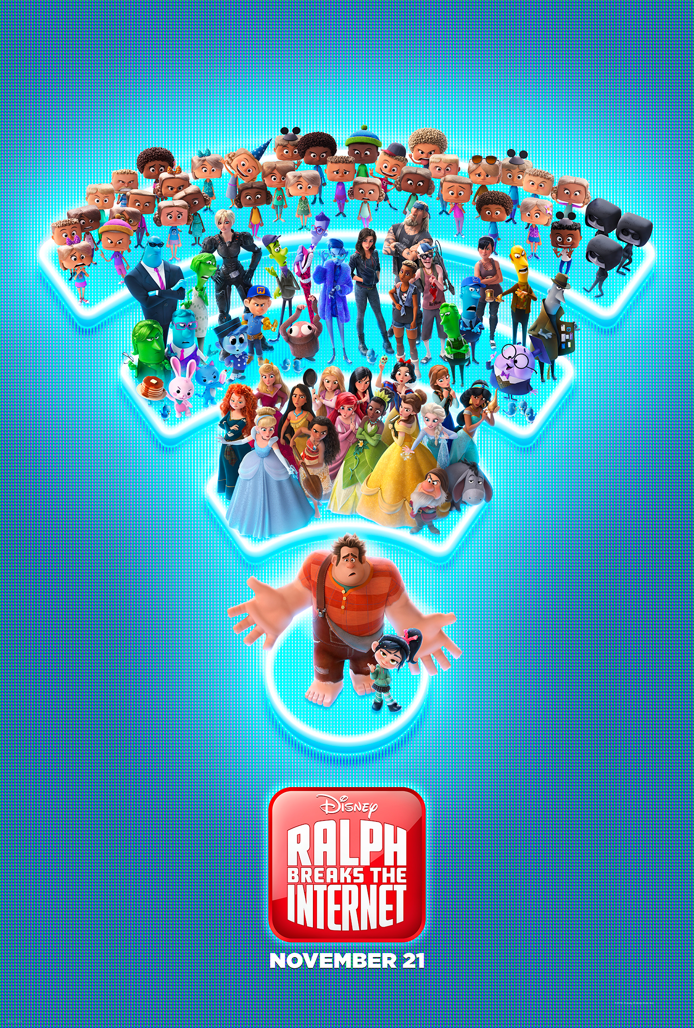 RALPH BREAKS THE INTERNET - Check out the New Trailer & Poster #RalphBreaksTheInternet