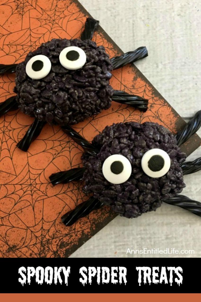 Spooky Spider Treats