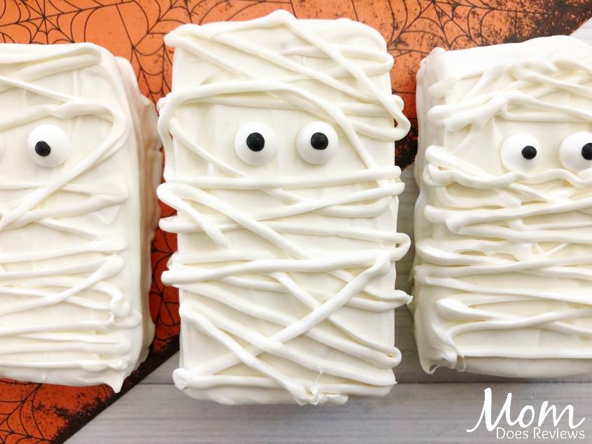 Yummy Mummy Rice Krispie Treats Funhalloween18 Mom Does
