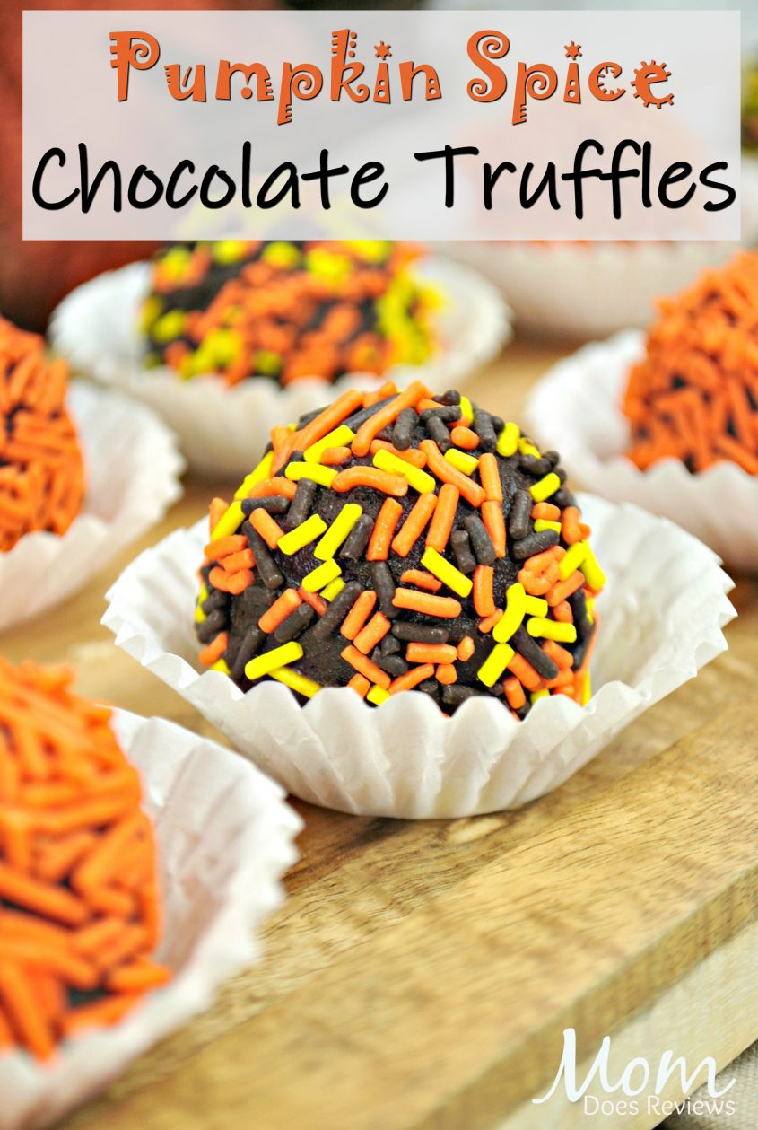 Moist and Delicious Pumpkin Spice Chocolate Truffles