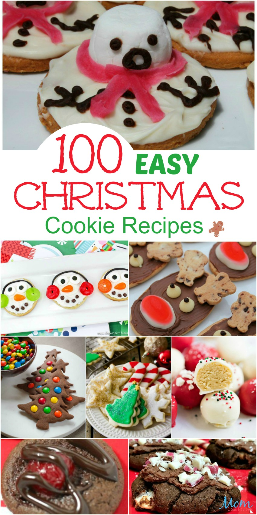 100 Easy Christmas Cookie Recipes You Must Try This Christmas Mom Does Reviews