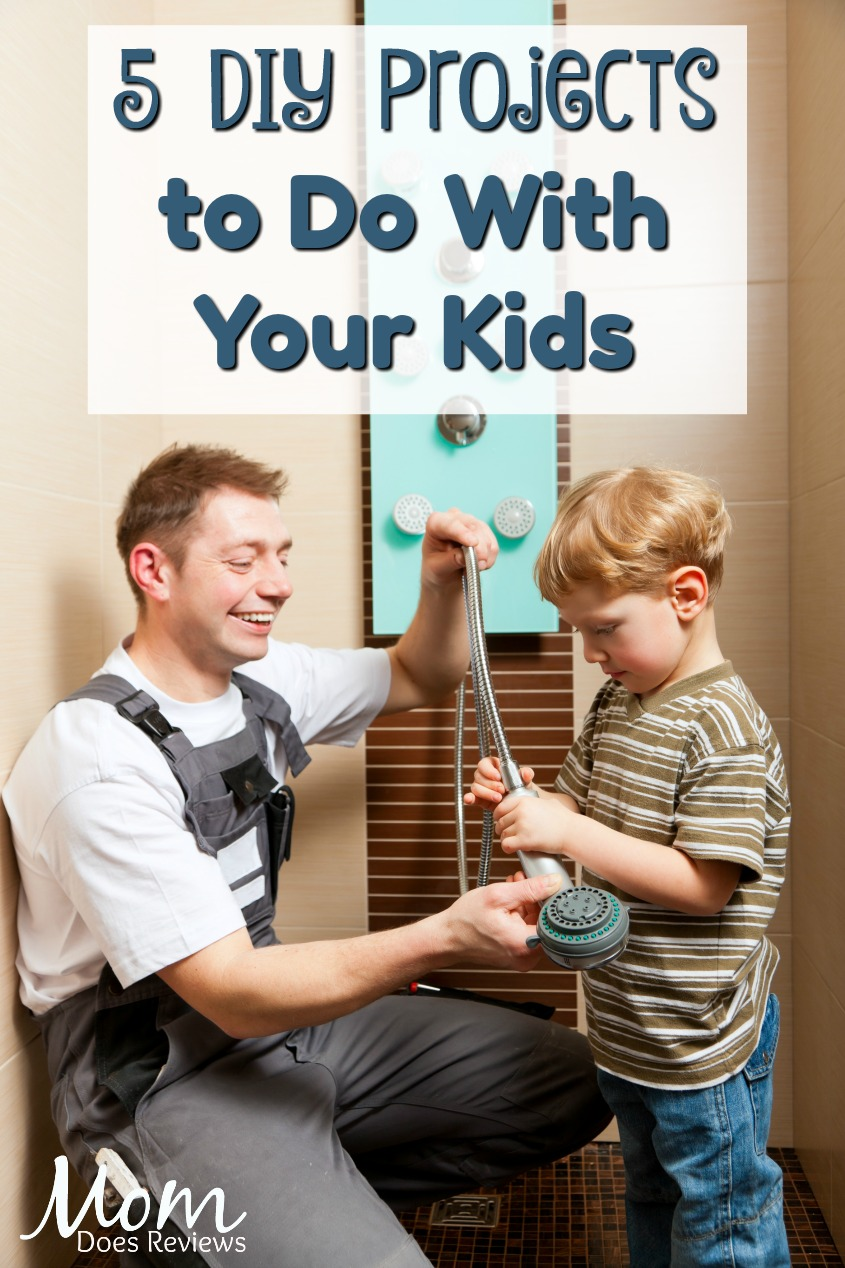 5 Home Improvement Projects to do with Your Kids that Will Turn Them into DIYers