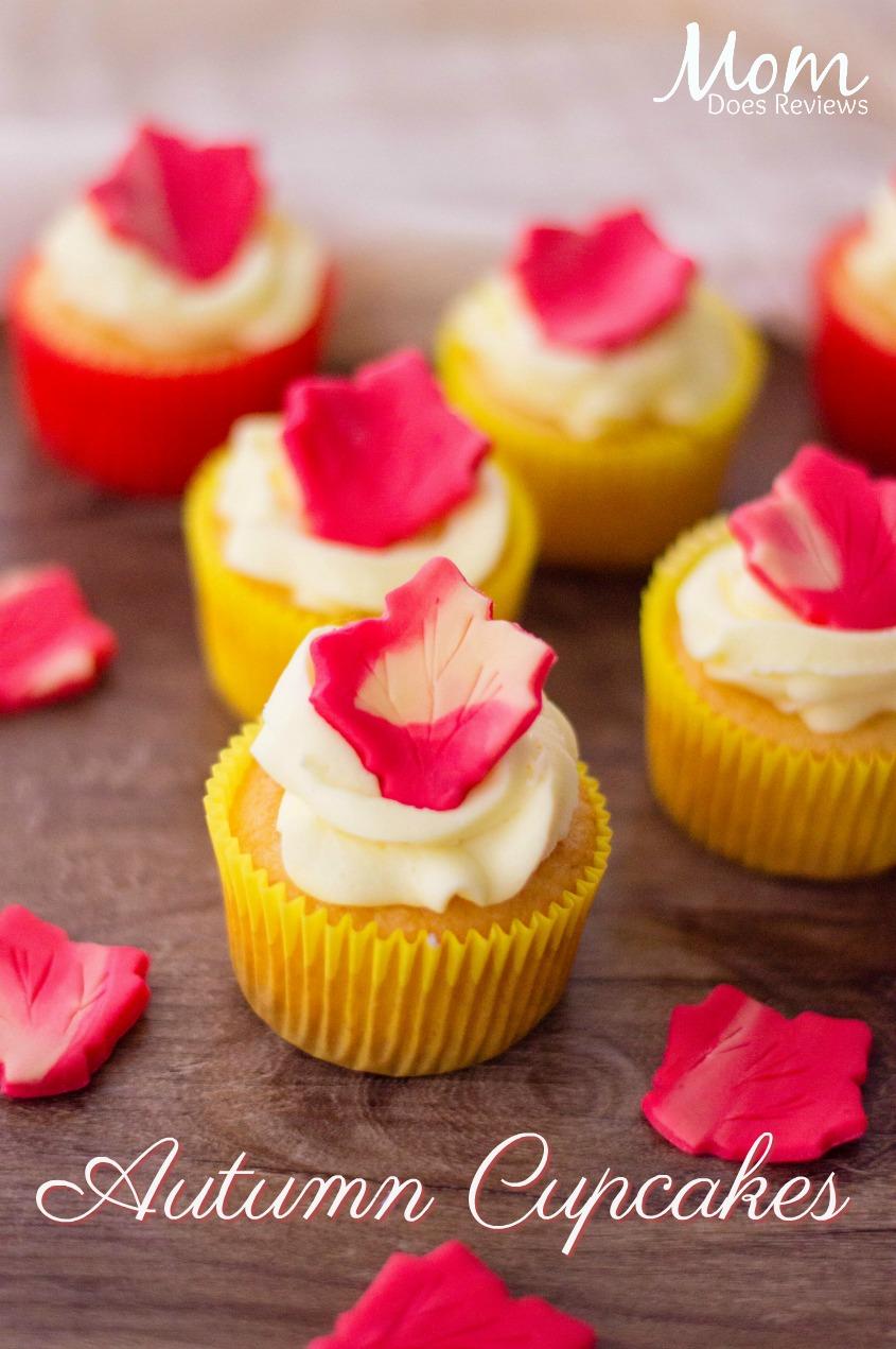 Easy Autumn cupcakes #desserts #cupcakes #foodie