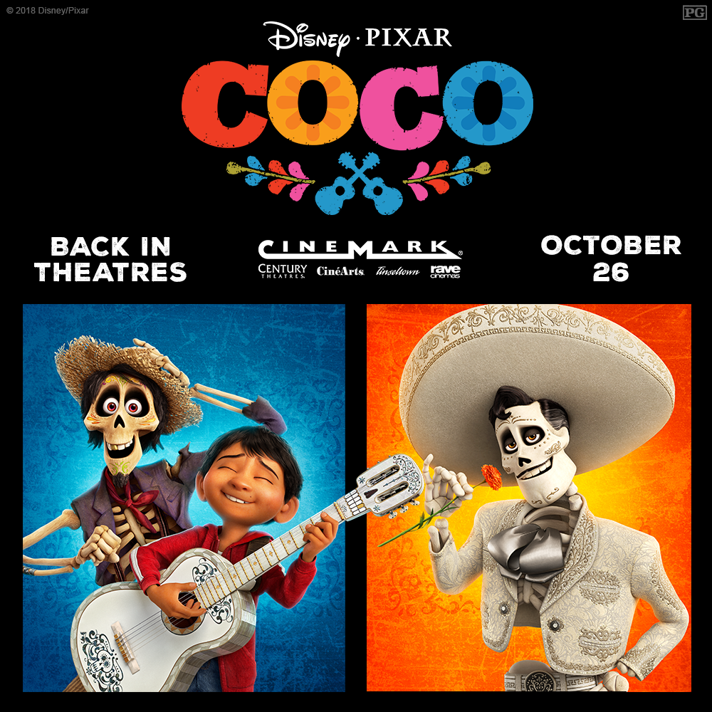 THE NIGHTMARE BEFORE CHRISTMAS, HOCUS POCUS & COCO - Returning to Theaters Next Weekend