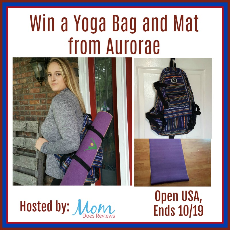 Win a Yoga Bag and Mat from Aurorae