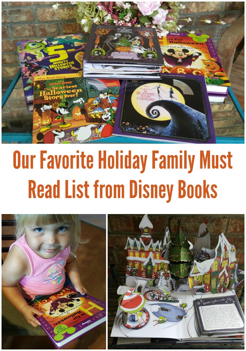 Our Favorite Holiday Family Must Read List from Disney Books