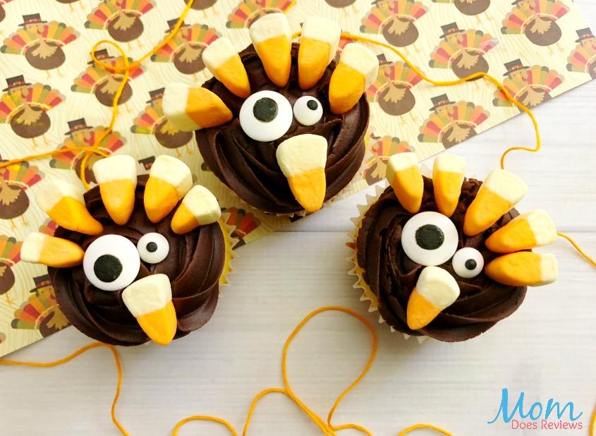 Turkey Cupcakes #thanksgiving #cupcakes #sweettreats