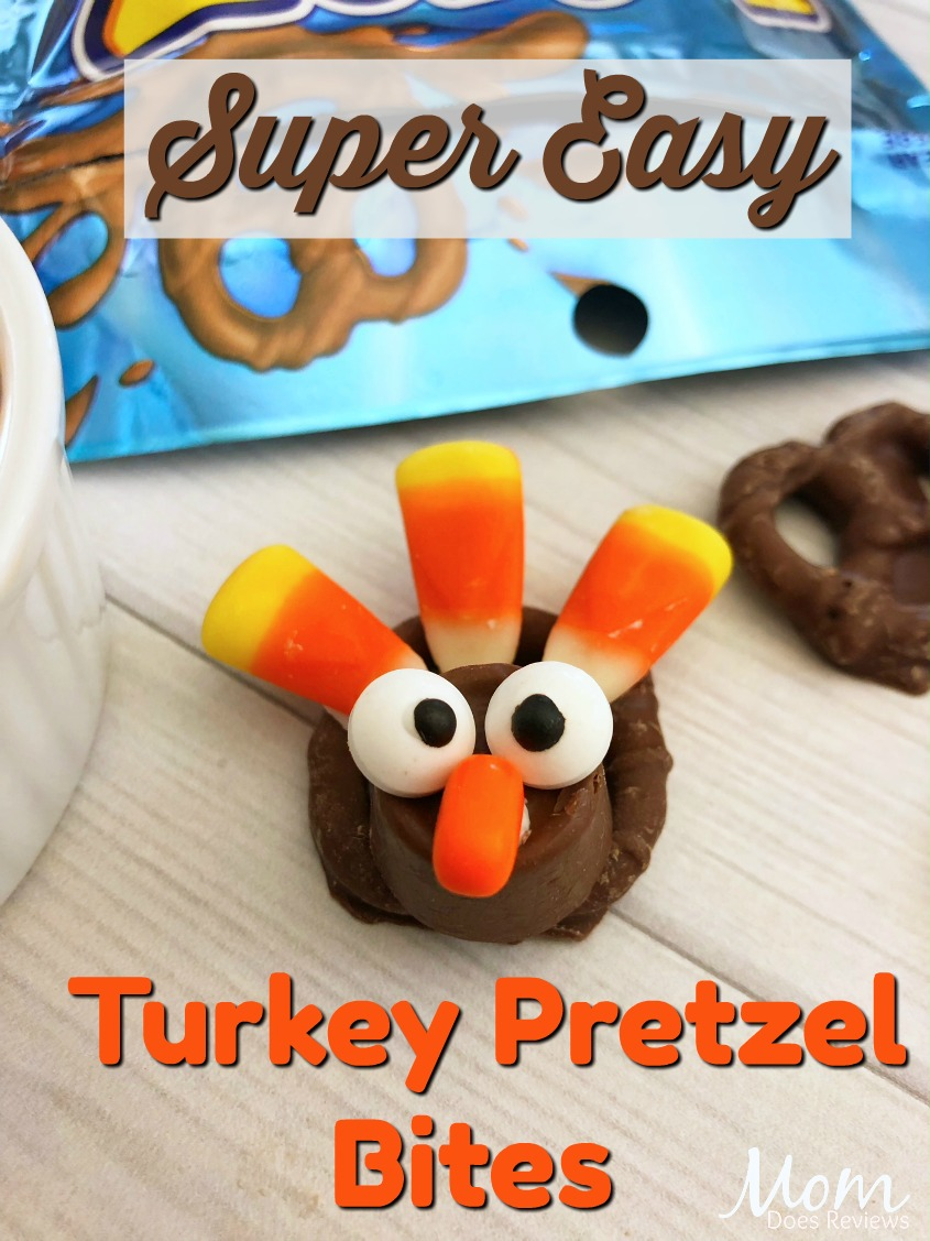 Easy Turkey Pretzel Bites #food #recipe #funfood