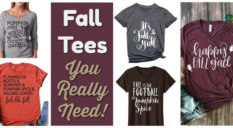 Fall Tees you Really Need