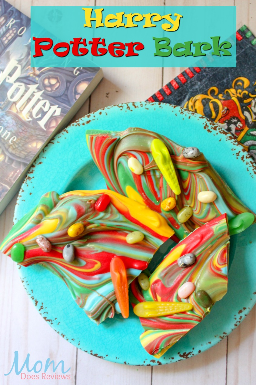 Harry Potter Bark #desserts #harrypotter