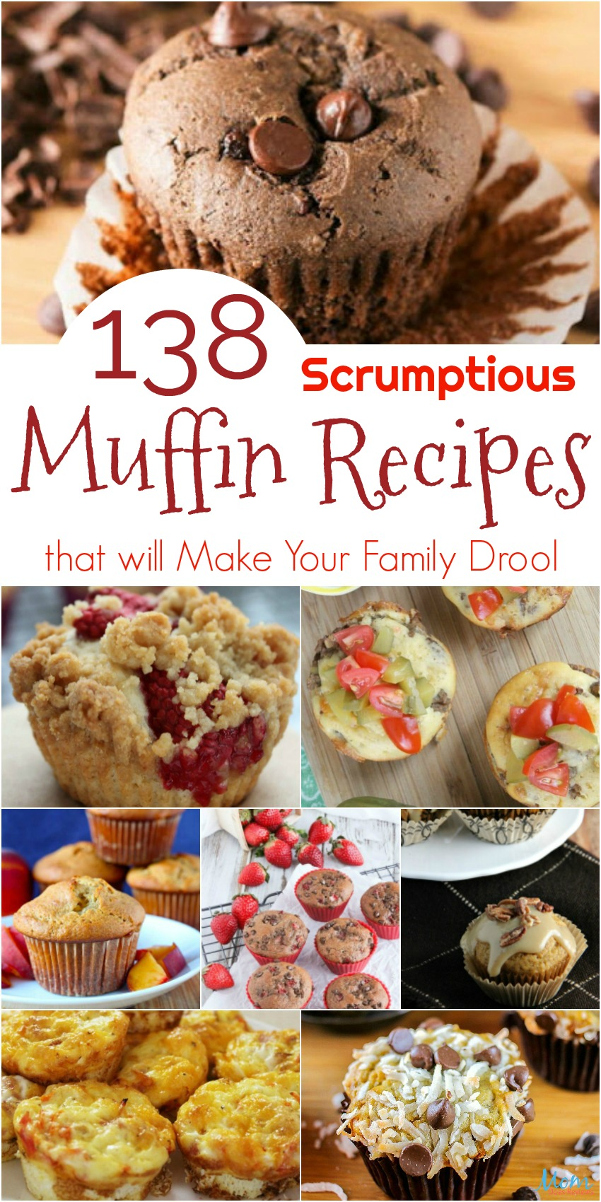 138 Scrumptious Muffin Recipes that will Make Your Family Drool #recipes #muffins #getinmybelly #food #yummy