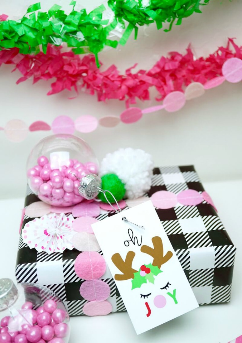 Candy Ornament Gift Tags