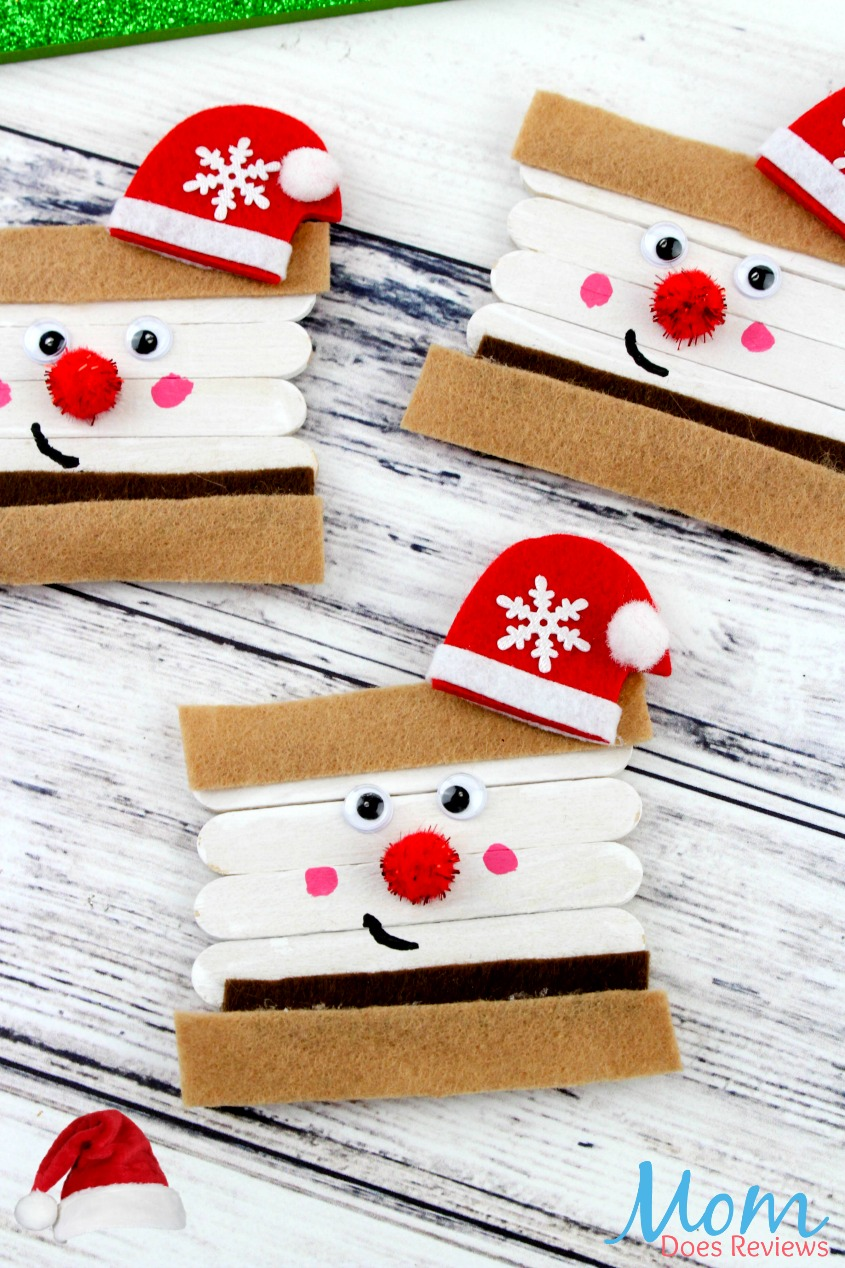 Santa Smore's Craft #christmas #crafts #santa #diy