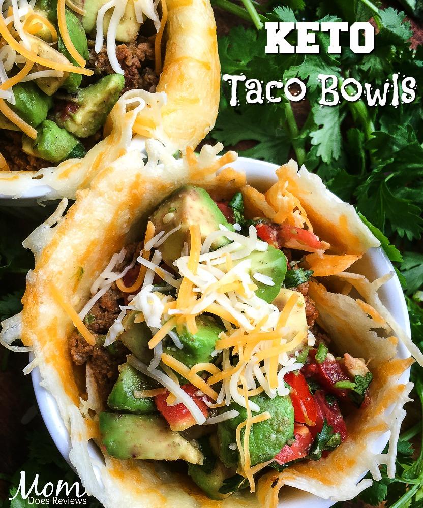 Keto Taco Bowls with Avocado Salsa #Keto #recipe #food #foodie