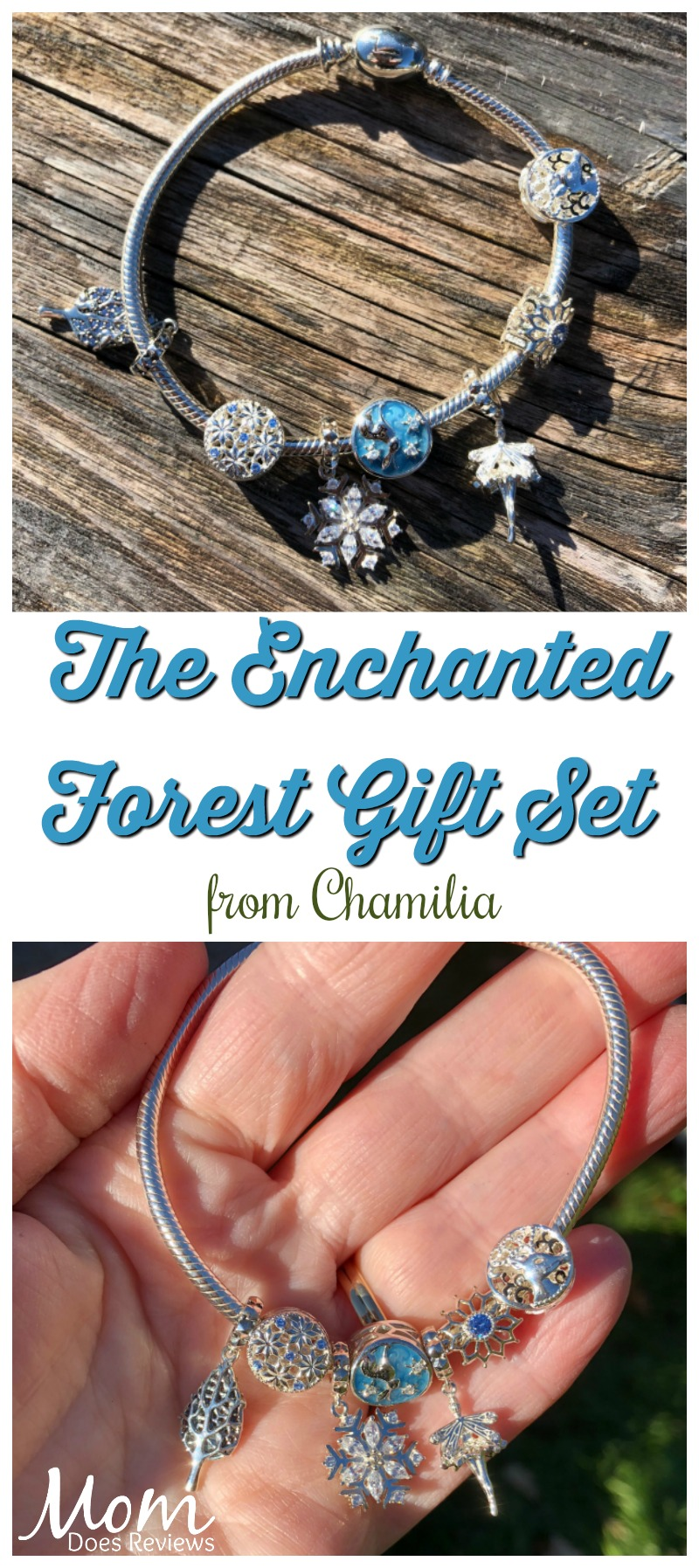 Give the Enchanted Forest Gift Set from Chamilia for a Magical Christmas! #MEGAChristmas18 #jewelry #gifts #giftideas