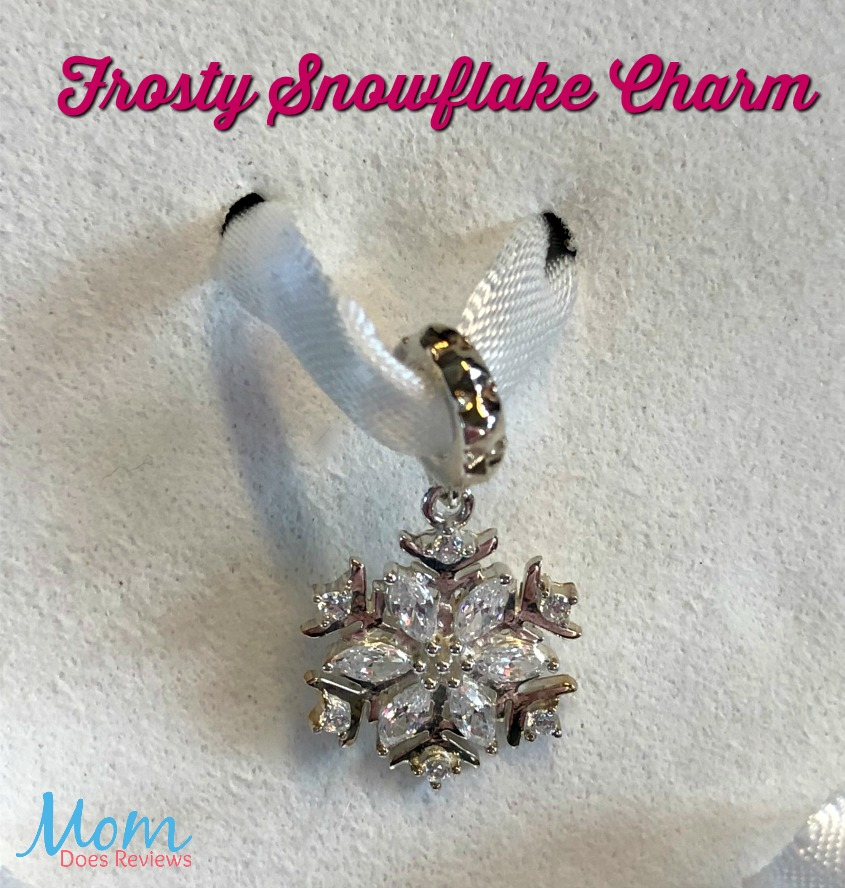 Enchanted forest snowflake charm